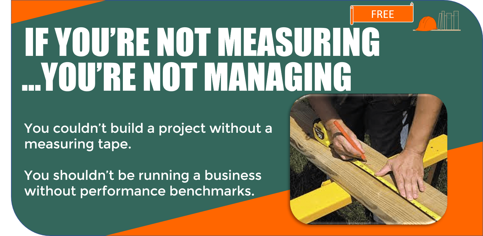If You're Not Measuring, You're Not Managing.