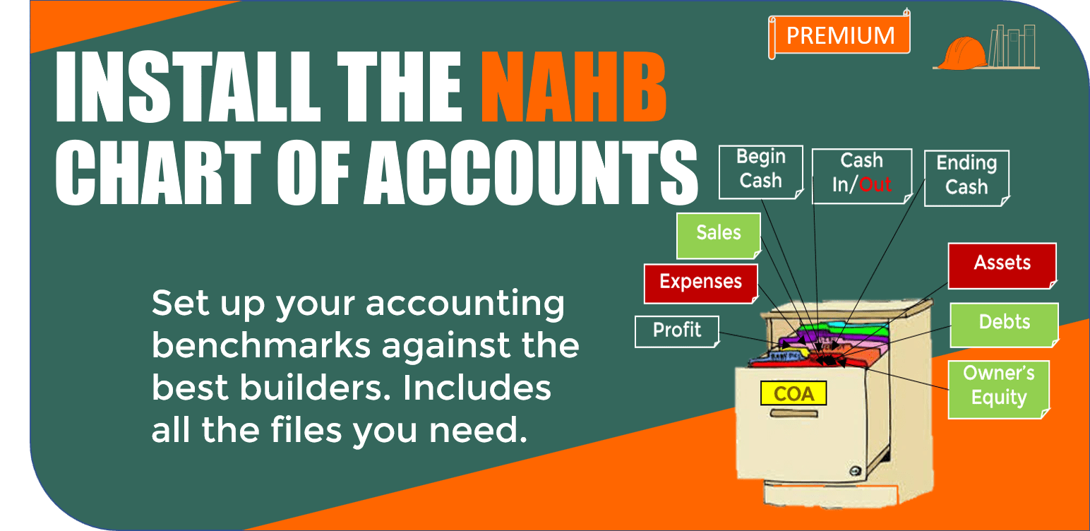 09.1.3. Install the NAHB Chart of Accounts
