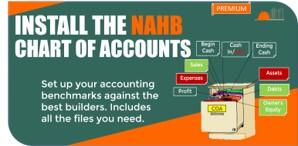 Install the NAHB Chart of Accounts